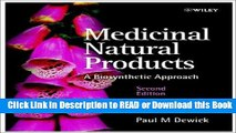 DOWNLOAD EBOOK Medicinal Natural Products: A Biosynthetic Approach For Free