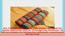 Aothpher Ornate Chevron Multicolor Stripes Pattern Washable Cotton Table Runner with 22b4624f