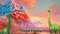 El Buen Dinosaurio Español Dedo De La Familia De Dibujos Animados Animación Rima De Cuarto De Niños El Buen Dinosaurio