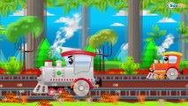 Trenes Para Niños - Dibujos Animados Educativos - Vídeos de Trenes - Caricaturas de trenes