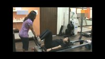 Bollywood Actress Sonam Kapoor Workouts in Gym Unseen Video