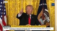 États-Unis Donald Trump a traité une nouvelle fois cette nuit plusieurs médias d'ennemis des Américains
