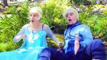 Frozen Elsa Loses Hairs! w/ Spiderman Bubble Gum, Joker Toilet Battle, Pink Spidergirl Sup