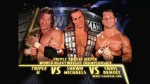 WWE - Triple H vs HBK vs Chris Benoit (Championship Match)
