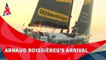 D102 : Arnaud Boissières' arrival / Vendée Globe
