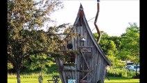 Cet artiste construit des petites maisons 100 % écologiques inspirés de contes de fées
