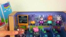 Peppa Pig en el Aula Playset de Aprendizaje ABC y Matemáticas, con Elsa Esbirros Interior DannyDog Jugu