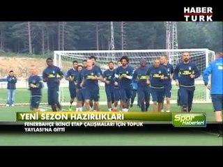 Fenerbahçe'de yeni sezon hazırlıkları