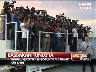 Başbakan Erdoğan Tunus'ta