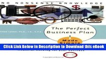 EPUB Download The Perfect Business Plan Made Simple: The best guide to writing a plan that will