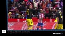 Atlético Madrid : Kevin Gameiro inscrit un triplé incroyable en 5 minutes (Vidéo)
