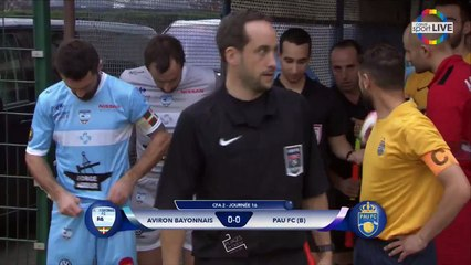 AVIRON BAYONNAIS FC vs  PAU FC (B) - J16 - CFA2 (groupe H) - Samedi 18 février 2017 - 18h (10)