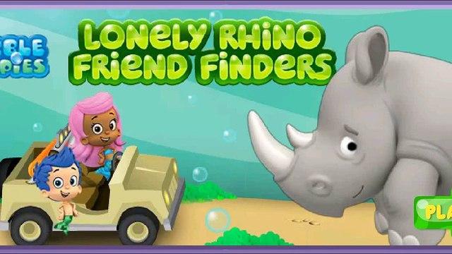 Bubble Guppies: Lonely Rhino Amigo De Los Buscadores. Juegos en línea