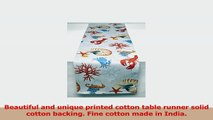 Luxury Double Layer Cotton Table Runner Coastal Breeze Table Linen 16  90 Ocean Blue f326f663