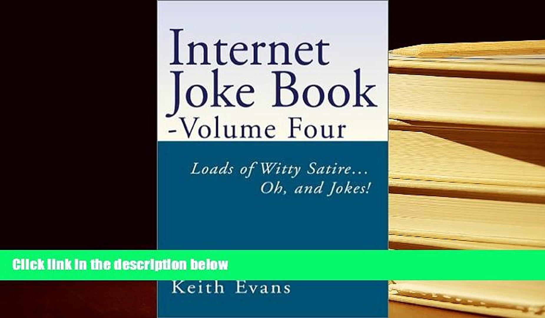 Pdf Internet Joke Book Loads Of Witty Satire Oh And Jokes