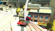 Spiderman y Deporte maravilloso Moto Cosas Locas canciones infantiles Canciones infantiles de Acción HD