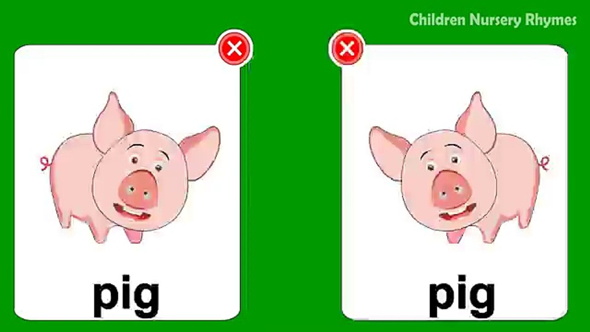 Learn Wild & Pet Animals names for children(kids) in english | Domestic Animals Pictures a