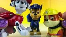 Paw Patrol and Playdoh Celebrates Ryders Birthday with Chase Zuma Marshall Rubble & PlayDoh Play