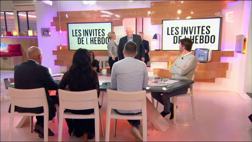 Pierre Bellemare et Samuel Etienne Partie 1 - C l'hebdo - 18/02/2017