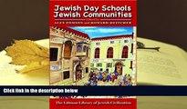 PDF Jewish Day Schools, Jewish Communities: A Reconsideration (Littman Library of Jewish