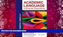 Download [PDF]  Academic Language in Diverse Classrooms: Mathematics, Grades 6-8: Promoting
