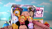 Huge Disney Tsum Tsum Surprise Toy Blind Box Show! Figural Keyring Blind Bags! Mickey Mouse Minnie