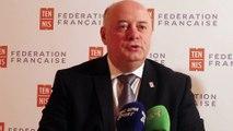 Tennis - FFT - Quand Bernard Giudicelli nous parle des valeurs de la Fédération Française de Tennis