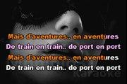 Serge Lama & Isabelle Boulay - D'aventures en aventures KARAOKE / INSTRUMENTAL