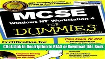 Books MCSE Windows NT? Workstation 4 For Dummies? (For Dummies (Computers)) Free Books