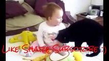 Best Funny Animals & Babies Compilation ► Funny Cats & Dogs with Babies Try Not to Laugh!