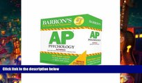 Popular Book  Barron s AP Psychology Flash Cards, 3rd Edition  For Trial