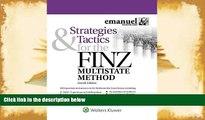Best Ebook  Strategies   Tactics for the FINZ Multistate Method (Emmanuel Bar Review) (Emanuel Bar