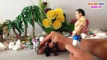 WWE Superstars Wrestling Figures Star Wars Figures Pepsi Bearbrick Toys For Kids Videos II