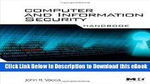 BEST PDF Computer and Information Security Handbook (Morgan Kaufmann Series in Computer Security)