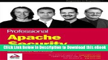 BEST PDF Professional Apache Security (Programmer to Programmer) [DOWNLOAD] ONLINE