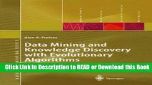Read Book Data Mining and Knowledge Discovery with Evolutionary Algorithms (Natural Computing