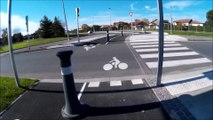 Colomiers à vélo: Blvd Gaston Deferre