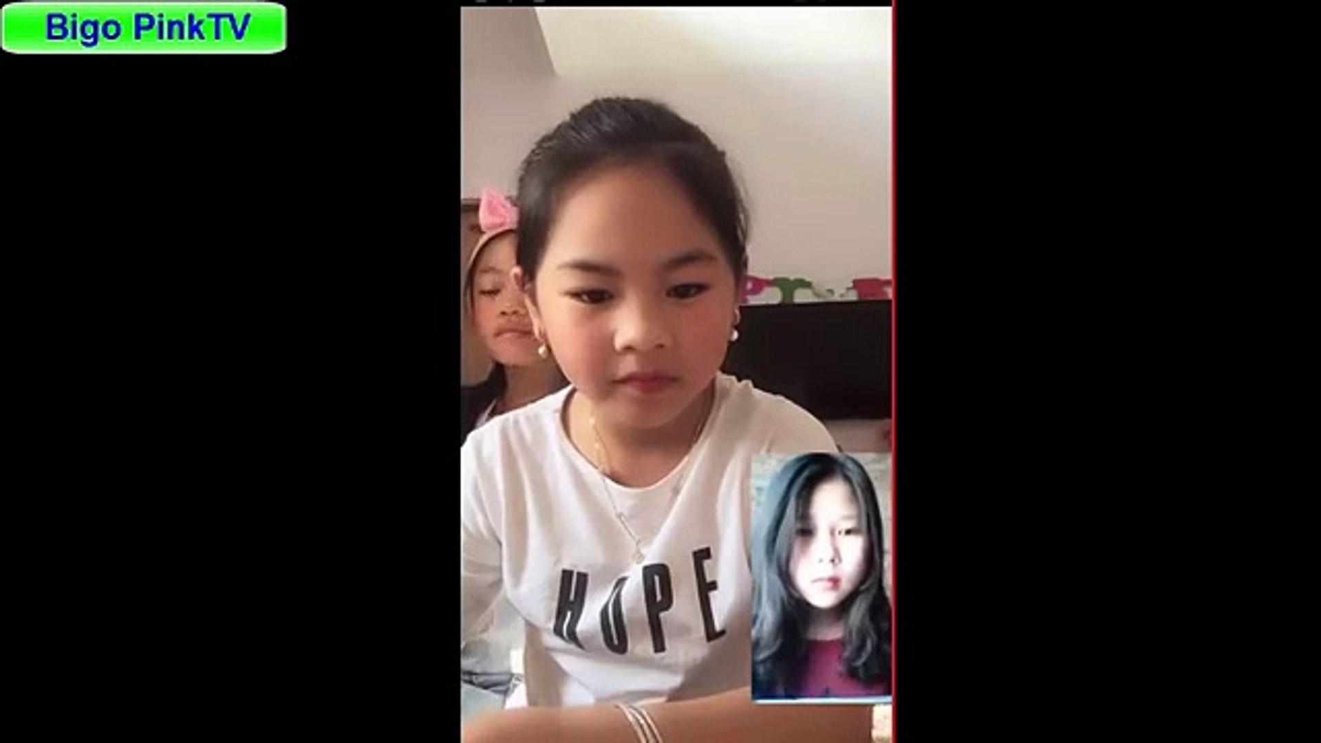Bigo live Thánh nữ học sinh -- Bé Phạm Hân thể hiện online
