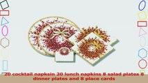 Entertaining with Caspari Large Entertaining Kit with 20 cocktail napkins 20 lunch napkins 56e5384d