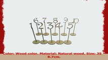 OUNONA Wooden Table Numbers with Holder Base for Wedding or Home Decoration 1 to10 Pack of e9981a62