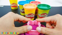 Learn Colors Paw Patrol Play Doh Pumpkin Hello Kitty Molds Kids Fun Creative Rhymes for To