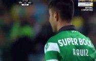 Alan Ruiz Goal HD - Sporting 1-0 Rio Ave - 18.02.2017