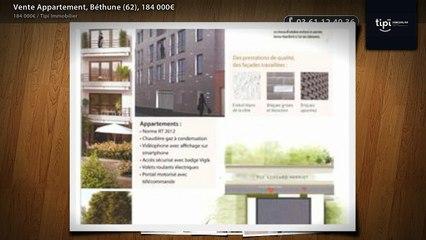 Vente Appartement, Béthune (62), 184 000€