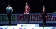ネイサン・チェン 2017四大陸選手権フリー&表彰式 Nathan Chen  Free skating