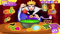 The Evil Queens Spell Disaster - Disney Princess Snow White Game for Kids