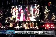 Juan Gabriel 'revivió' como holograma durante su homenaje en México