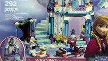 LEGO Disney Frozen Elsa Espumosos del Castillo de Hielo 41062 ❤ Juego El Brillante Castillo de Hiel