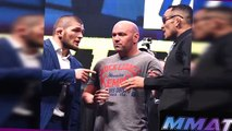 Khabib on BREAKING Tonys face, will FINISH Conor;Anik,Buffer on Floyd/Conor;Chael MOVES ON to Wan