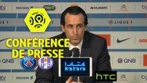 Conférence de presse Paris Saint-Germain - Toulouse FC (0-0) : Unai EMERY (PARIS) - Pascal DUPRAZ (TFC) / 2016-17