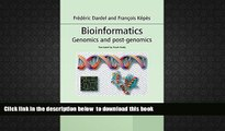 PDF [DOWNLOAD] Bioinformatics: Genomics and Post-Genomics BOOK ONLINE